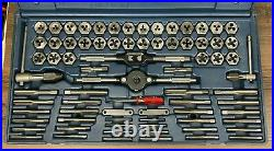 Craftsman USA Made 76 Piece Tap & Hex Die Set Usa, Sae & Metric #252377