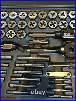 Craftsman USA Made 76 Piece Tap & Hex Die Set Usa, Sae & Metric #52377