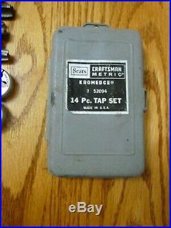 Craftsman Vintage Tap and Die Sets KROMEDGE