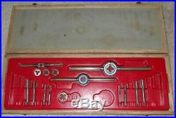 Dormer Tap and Die Set BSW 1/4 5/16 3/8 7/16 1/2 7/16 3/4 7/8 and 1 Whitworth