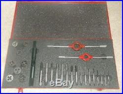 Dormer Tap and Die Set. M3 M4 M5 M6 M7 M8 M9 M10 In Case Metric