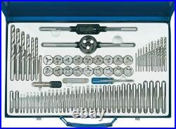 Draper 1x 75 Piece Combination Tap and Die Set Metric and BSP Professional Tool