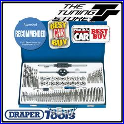 Draper 79205 75 Piece Combination Tap and Die Set Metric and BSP In Steel Case