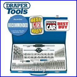 Draper 79205 75 Piece Combination Tap and Die Set Metric and BSP With Steel Case