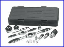 GEARWRENCH 11 Pc. Ratcheting Tap and Die Drive Tool Set 82807