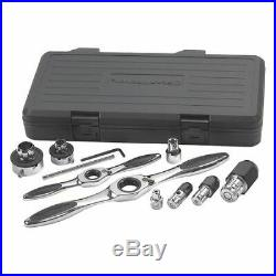 GEARWRENCH 82807 11 Pc. Ratcheting Tap and Die Drive Tool Set