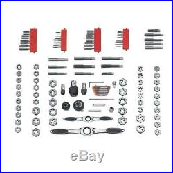 GEARWRENCH Ratcheting Tap Die Set Reversible Lever Auto-Locking (114-Piece)