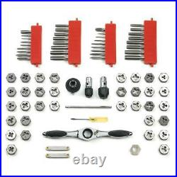 GEARWRENCH Tap Die Set SAE/Metric 5 Degree Ratcheting Twist Lock System 75-Piece