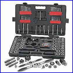GEARWRENCH Tap and Die Set, 114 pc, Carbon Steel, 82812