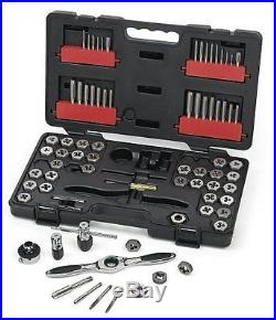 GearWrench 3887 Tap and Die 75 Piece Set Combination SAE Metric Threading Tools
