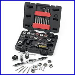 GearWrench 40-Pc Metric Ratcheting Tap and Die Dr Tools Set 3886 New