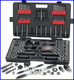 GearWrench Ratcheting Tap/Die Set 72 Tooth Gear Storage Case (114-Piece)