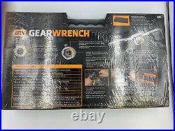 Gearwrench 75 Pc. Ratcheting Tap and Die Set, SAE/Metric 3887 With case NEW