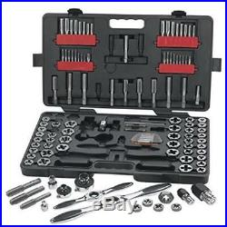 Gearwrench 82812 114Pcs Large Combination Tap & Die Set Tool Building Apex