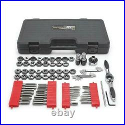 Gearwrench Professional SAE and Metric Ratcheting Tap and Die Set 75-Pieces