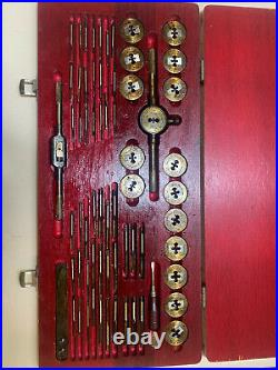 Greenfield Little Giant Tap And Die Threading Set A-160 USA