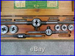 Greenfield Little Giant Tap and Die Complete Set Vintage USA