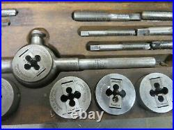 Greenfield Little Giant Tap and Die Set No. 311 Combination Screw Plate Morse