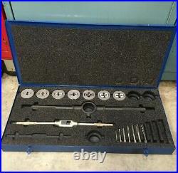 Greenfield Tap & Die Set Metric M6-M18 Little Giant GTD USA Machinist Tool
