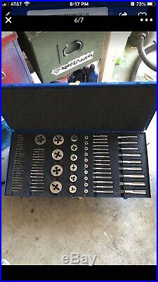 Greenfield tap and die set Us Screw Threading Kit #6. Complete. New Old Stock