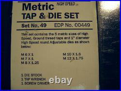 Greenfiled Industries. High Speed Metric Tap And Die Set