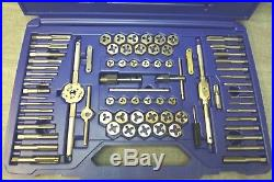 IRWIN (26376) Tap and Die Set 76pc. High Carbon Steel (86894-1 H)