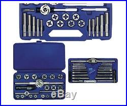 Irwin 66 Piece Metric Tap And Die Set High Carbon Steel