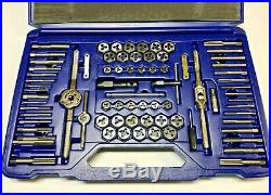 IRWIN HANSON 76 piece High Carbon Steel Tap and Die Super Set SAE/Metric 26376