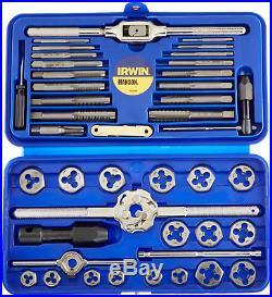 IRWIN Tools Metric Tap and Hex Die Set, 41-Piece 26317