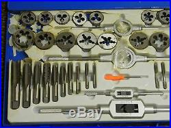 Interstate 45 Pc Tap and Die Set 1/4-1 to 1-14 Tap UNC and UNF 03959202