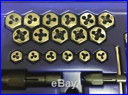 Irwin Hanson 117-pc Fractional / Metric Tap & Hex Die and Drill Bit Deluxe Set