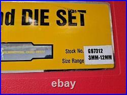 Irwin Hanson 97312 Metric Tap Die Set G97312 28 Piece complete kit 3mm 12mm