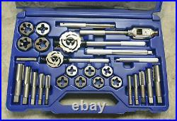Irwin Hanson 97312 Metric Tap and Die Set Main Case with 28 Pieces