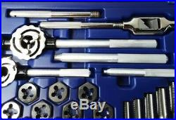 Irwin Hanson 97312 Metric Tap and Die Set (Main Case with 28 Pieces) O