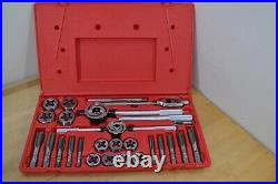Irwin Hanson G 97312 Large Metric 28 Piece Tap & Die Set 3MM To 24MM Made In USA