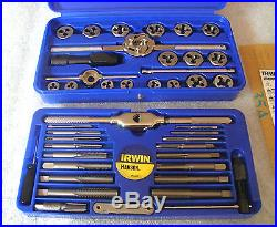 Irwin Hanson Industrial Tools 41 Piece Tap and Die Set NEW IN BOX