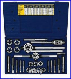 Irwin Industrial Tools 97311 Metric Tap and Hex Die Set, 25-Piece Made in USA