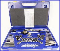 Irwin Tools Hanson 53 Piece Fractional Tap and Hex Die Set #24640