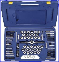 Irwin Tools Performance Threading System Self-Aligning Tap and Die Set, 75-Piece