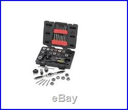 KD Tools 40-Piece SAE Tap and Die Set GearWrench Holder Carbon Steel Work