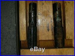 LAL BSB Tap and Die set (British Standard Brass) army surplus, steel case