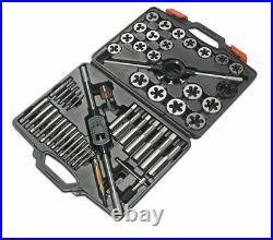Laser Tools 3246 Tap and Die Set Metric 51pc Alloy Steel