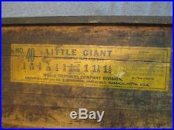 Little Giant No. 40 Tap & Die Set 1/4 thru 1 1/4 / FB 79