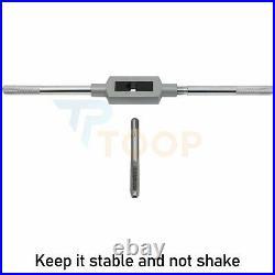 M2-M18 110-Piece Metric Tap And Die Set Machinist Threading Chasing Repair NEW