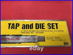MAC TOOLS 76 PIECE TAP & DIE SET GOOD CONDITION Ships Free