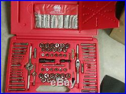 Mac Tools Deluxe Threading And Drill Bit Set 117 Pcs Metric Tap And Die Set