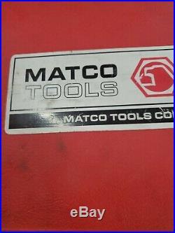 MATCO TOOLS 25 PIECE TAP AND DIE SET 9/16 Thru 1 6094TD