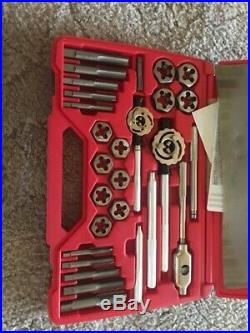 MATCO TOOLS Excellent 25 PIECE LARGE METRIC TAP AND DIE SET 6095TD