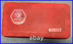 MATCO Tools 42 Piece Standard SAE Tap & Die Set 606TD