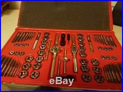 Mac Tools 76 Piece Tap and Die Set mint condition